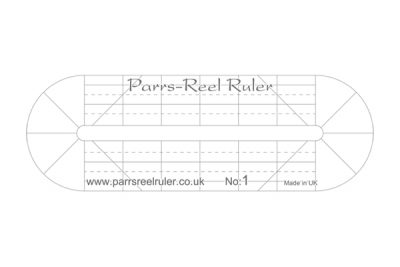 Parrs & Reel Ruler